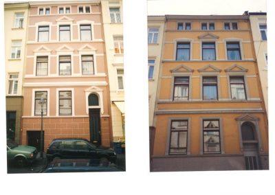 Hausfassade (vorher)