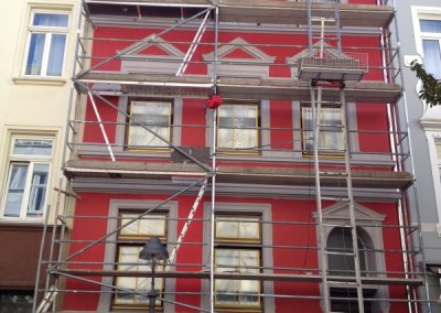Hausfassade (vor Renovierung 2012)