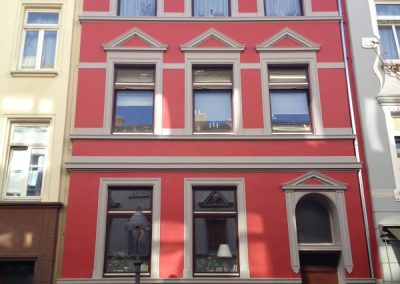 Hausfassade (nach Renovierung 2012)