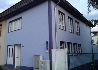 Hausfassade Seitenansicht (nachher)