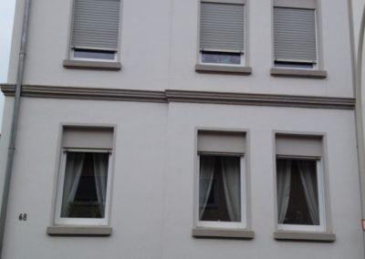 Hausfassade Frontansicht (vorher)
