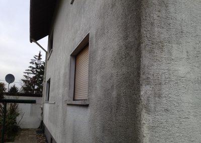 Hausfassade Nahaufnahme (vorher)