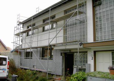 Aussenfassade (Fassadendämmung)