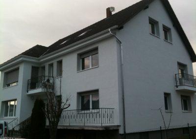 Hausfassade Seitenansicht (fertig)