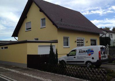 Hausfassade (nachher)
