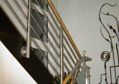 Treppenaufgang mit Dekoflocksystem